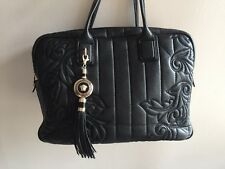 $3455 VERSACE VANITAS DEMETRA QUILT LEATHER HANDBAG