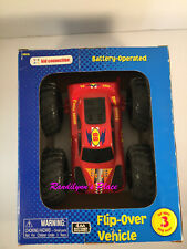 Flip Over Vehicle 2 Sided Off Road & Racing Toy Car Battery Operated Ages 3 & up
