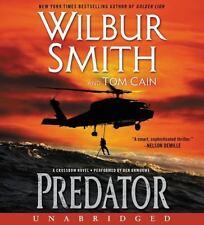 PREDATOR unabridged audio book on CD by WILBUR SMITH - Brand New! 8 CDs 10 Hours
