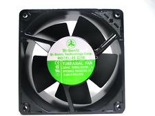 Bi-Sonic 4E-230B All-metal high-temperature fan 230VAC 22/21W 120*120*38MM