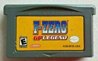 F-ZERO GP LEGEND, NINTENDO GAMEBOY ADVANCE VIDEO GAME ORIGINAL CARTRIDGE