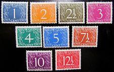 NNG NVPH 1 - 9 Cijfer Van Krimpen 1950 prachtig ongebruikt CW ca. 12,-