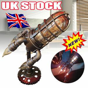 Steam Punk Rocket Lamp UO