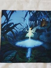 quilting panel/blue fairy/forest fairy /ballet/fabric/cotton-linen/child's patch