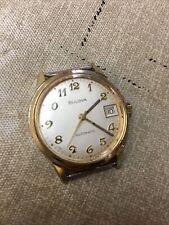 Vintage  (N8) Bulova Automatic Self Winding Men's Watch Working!