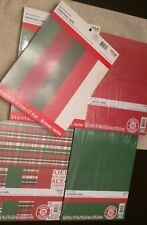 Recollections 120 Sheets Embossed Scrapbook Pad + 125 Sheets of Sealed Cardstock