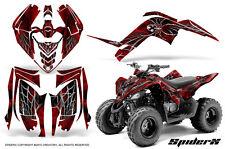 YAMAHA RAPTOR 90 2009-2015 GRAPHICS KIT CREATORX DECALS STICKERS SPIDERX R