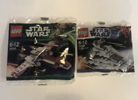 Lego Star Wars Brand New 30056 - 30240 polybags Z-95 Headhunter/ Star Destroyer