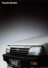 Toyota Starlet Prospekt 9/86 Autoprospekt 1986 Broschüre brochure broschyr Auto