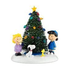 Department 56 Peanuts Village O' CHRISTMAS TREE Figurine 808997 BNIB