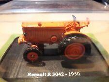 0 Gauge 1.43 Renault R 3042 Tractor - 1950 Hachette Universal Hobbies