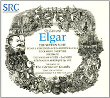 BAND OF THE GRENADIER GUARD-Edward Elgar - The Severn Suit CD NEW
