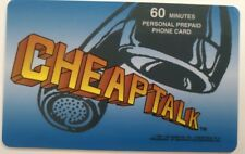 Cheap Talk Smartalk Prepaid Phone Card, Vintage Collectible              (D)