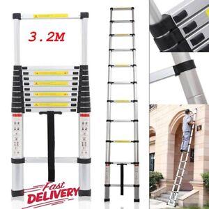 3.2m Aluminum Alloy Ladder Multi-Purpose Climb Telescopic Extendable Step