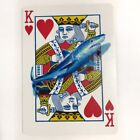 ACEO Original painting Shark great white heart poker face art listed by artist