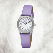 Regent Leather Children's Watch F-1120 Quartz Watch Bracelet Purple URF1120