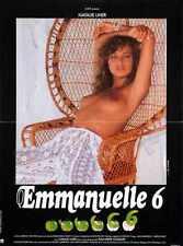 Emmanuelle 6 Poster 03 A2 Box Toile imprimer