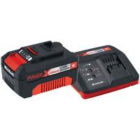 Batteria + Caricabatteria Einhell Power-X-Change 18V 3,0 Ah Starter-Kit