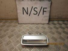 MG ZR TROPHY EXTERIOR DOOR HANDLE NSF PASSENGER FRONT MBB SILVER 3 DOOR 2005