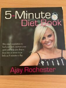 5 Minute Diet Book, By Ajay Rochester, PAPERBACK VGC HEALTH AND FITNESS