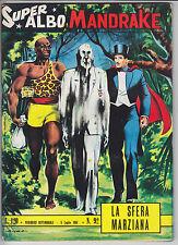 SUPER ALBO n.  92  MANDRAKE - ed. Spada 1964 -  ottimo+