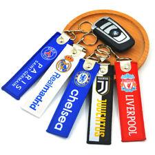 Football Sport Pendant Team Logo Keychain Soccer Souvenir Pendant Wholesale