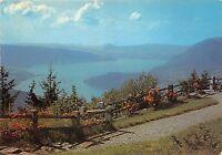 BR287 Lac d annecy vue generale du lac prise du col de la Forclaz   france