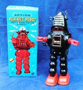 Robot vintage - PLANET ROBOT. KO Toys, Yoshiya. 1958 env. Hauteur 22,5 cm. TBE