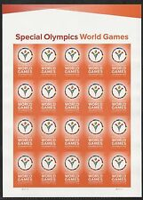 2015 #4986 Imperf Special Olympics World Games Without Die Cuts MNH