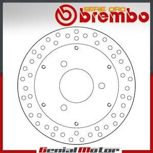Brake Disc Fixed Brembo Serie Oro Rear for Suzuki Burgman 400 2003 > 2005