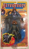 1995 ULTRAFORCE #9 THE NIGHT MAN Action Figure w/Grappling Hook Galoob