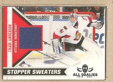 Craig Anderson  2010-11 Panini All Goalies Stopper Sweaters