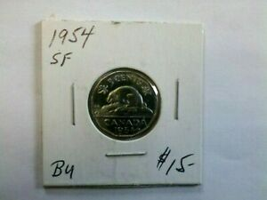 Canada 1954  5  Cents SF