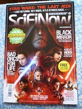 SciFi Now Magazine - # 139  Star Wars: The Last Jedi / Black Mirror / Jumanji