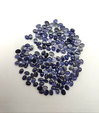 Natural Iolite Oval Cabochon Lot 70 Pieces 6 8 MM 90 CT