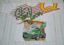 Steve Kinser Sprint Car Quaker State Racing T Shirt Vintage