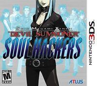 Shin Megami Tensei: Devil Summoner Soul Hackers [Nintendo 3DS Atlas JRPG] NEW