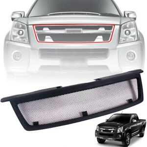 Grille Grill Net Mesh Black For Isuzu D-max Dmax Holden Rodeo Pickup 2007-2011