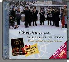 The Salvation Army Music CD & The Story of Jesus Movie DVD! New 2007 Set!