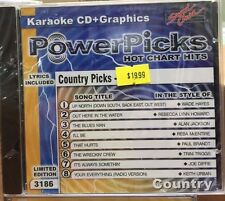 SOUND CHOICE KARAOKE POWER PICKS CD+G COUNTRY VOL 91 #3186
