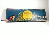 Vintage Glolite 15 Light Outfit 120 Volt Christmas Lights with original box RARE