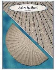 Scallop Sea Shawl Knitting Pattern Needle Beetle
