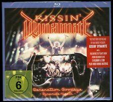 Kissin' Dynamite Generation Goodbye (Dynamite Nights) 2 CD + Blu-ray new