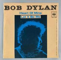 Bob Dylan - Heart of Mine/Let It Be Me * 1981 CBS 1406 Italy Rock 45 Single
