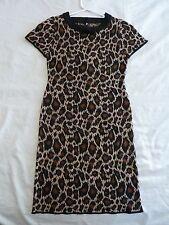 Dangerfield 8 XS Animal Print Knitted Dress
