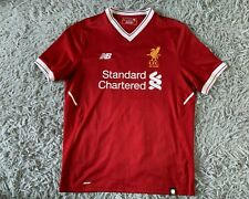 Liverpool Home Football Soccer Shirt Jersey 2017/2018 Chamberlain #21 M