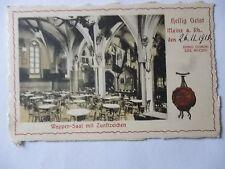 Ansichtskarte Mainz 1915 Heilig Geist Wappen-Saal mit Zunftzeichen