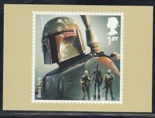 Great Britain Boba Fett Star Wars Royal Mail Stamp Card