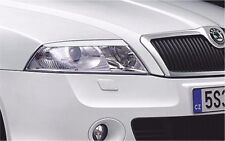Cilia head lights Headlights eyebrows Skoda Octavia A5 2004-2009