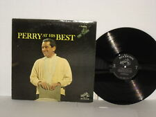 Perry Como 1963 At His Best LP PR138 Mitchell Ayres Scarlet Ribbons Route 66